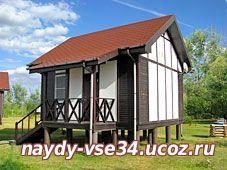 Трехместный дом на турбазе Каршевитое